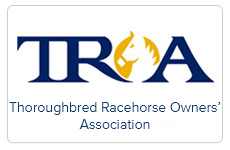 Image result for thoroughbred racehorse owners association logo